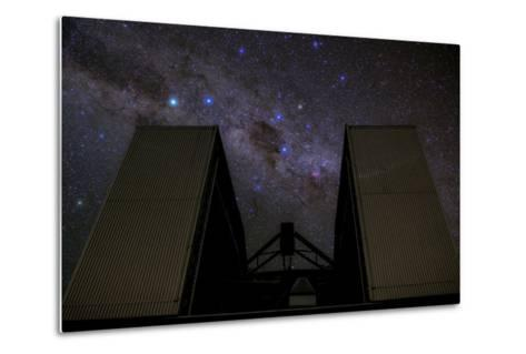 An 8-Metre Giant Telescope Studies the Skies at the Cerro Paranal Observatory-Babak Tafreshi-Metal Print