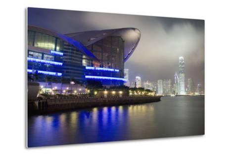 National Convention Center at Night, Long Exposure Elena Roman Durante-Design Pics Inc-Metal Print