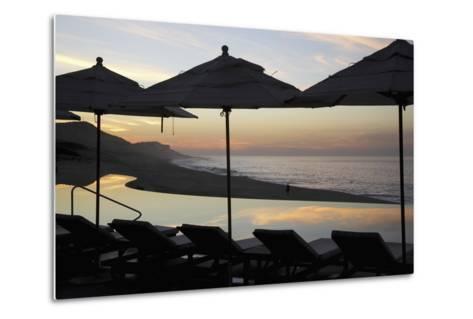 Sunrise at Beach of Los Cabos-Design Pics Inc-Metal Print