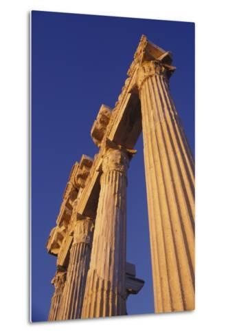 Classical Column, Low Angle View-Design Pics Inc-Metal Print