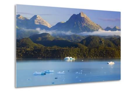 Icebergs Floating-Design Pics Inc-Metal Print