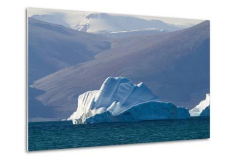 Iceberg near the Coastline-DLILLC-Metal Print