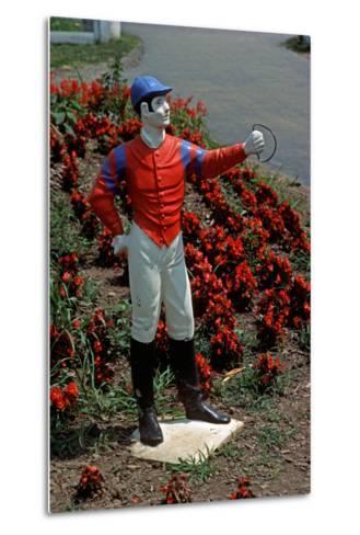 Jockey Horse Hitching Posts, Lexington, Kentucky, Usa, 1984-Alain Le Garsmeur-Metal Print