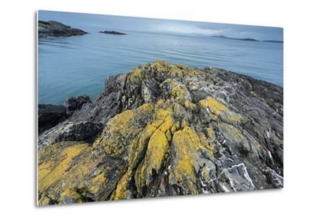 Iceberg Point at the Southern Tip of Lopez Island Overlooks the Strait of Juan De Fuca-Michael Melford-Metal Print