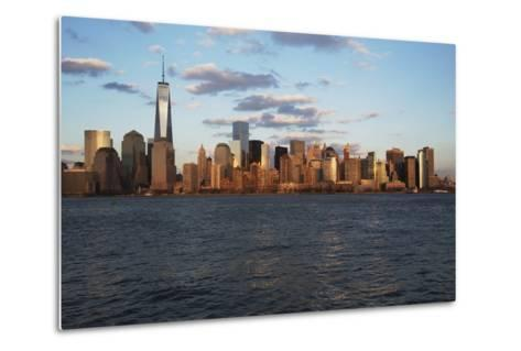 Panoramic View of New York City Skyline on Water Featuring One World Trade Center (1Wtc), Freedom T-Joseph Sohm-Metal Print