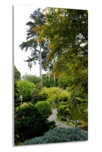 Curving Paths in the Japanese Tea Garden, the Oldest Public U.S. Japanese Garden-Krista Rossow-Metal Print