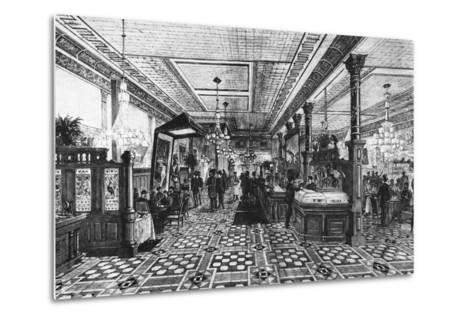 Hoffman Bar Room by F.G. De Fontain--Metal Print