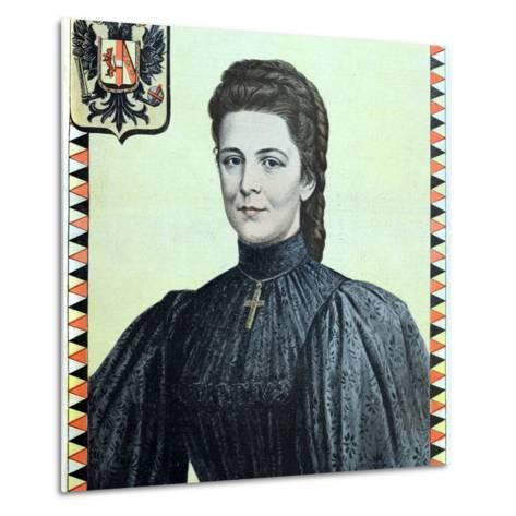 Empress Elisabeth of Austria 1937-98-Chris Hellier-Metal Print
