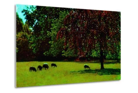 Country Side-Andr? Burian-Metal Print