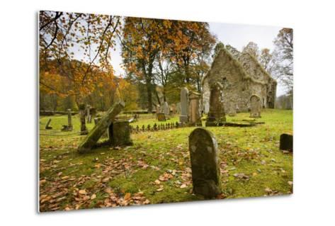 Ruins of Church and Graveyard; Argyl and Bute, Scotland, Uk-Design Pics Inc-Metal Print