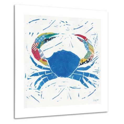 Sea Creature Crab Color-Courtney Prahl-Metal Print