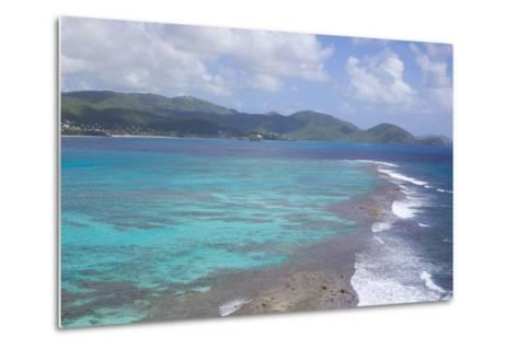 View over South Coast and Coral Reef-Frank Fell-Metal Print