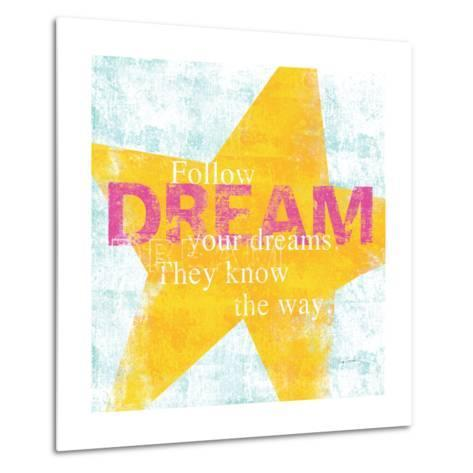 Letterpress Dream-Sue Schlabach-Metal Print