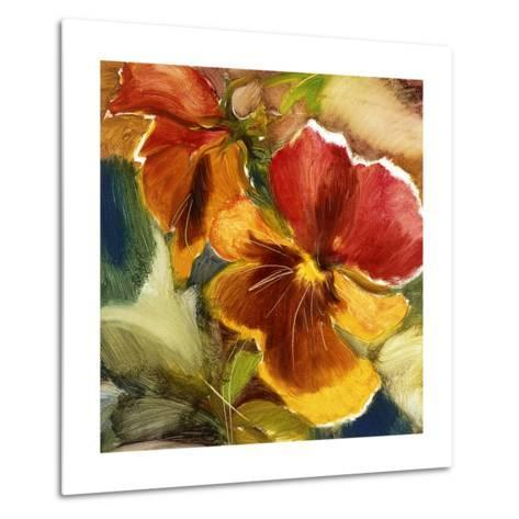 Hot Blooms VII--Metal Print