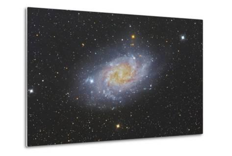 The Triangulum Galaxy, also known as Messier 33--Metal Print