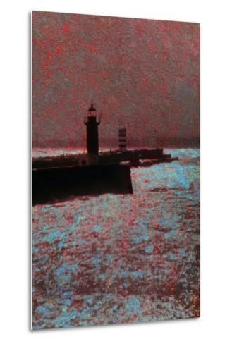 By the Sea-Andr? Burian-Metal Print