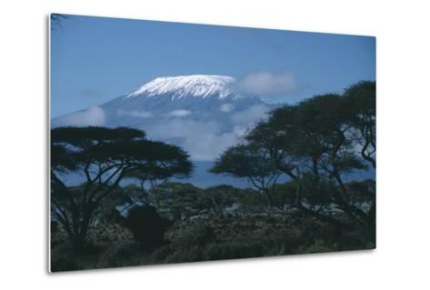 Mount Kilimanjaro-DLILLC-Metal Print