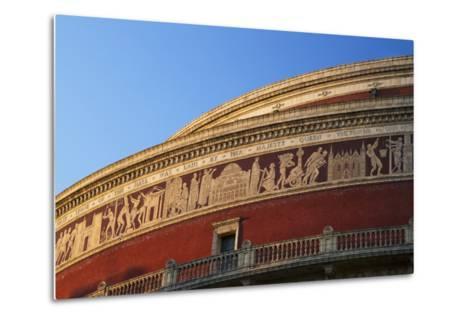 Exterior of Royal Albert Hall, Kensington, London, England, United Kingdom, Europe-Peter Barritt-Metal Print