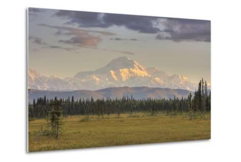 Scenic View of Mount Mckinley, Alaska-Design Pics Inc-Metal Print
