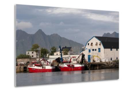 Svolvaer, Lofoten Islands, Norway, Scandinavia, Europe-Sergio Pitamitz-Metal Print