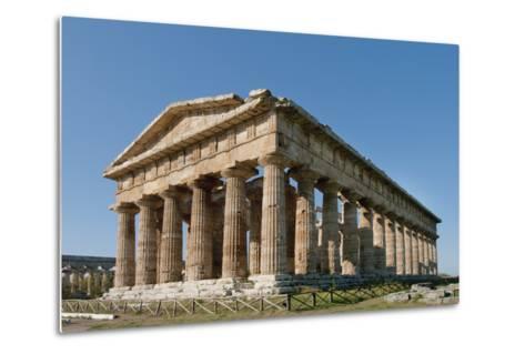Hera, Paestum, Campania, Tyrrhenian Coast, Italy-Design Pics Inc-Metal Print