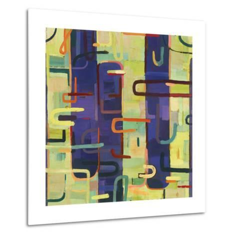 Lattice 2-Akiko Hiromoto-Metal Print