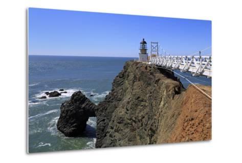 Point Bonita Lighthouse-Richard Cummins-Metal Print