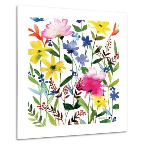 Annes Flowers Crop II-Anne Tavoletti-Metal Print
