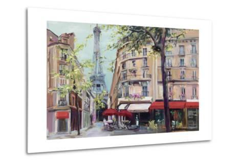Springtime in Paris-Hageman Marilyn-Metal Print
