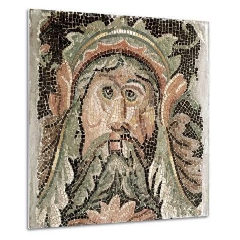 Roman Art: Sea Divinity--Metal Print