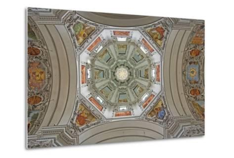 Cathedral Dome Interior, Close Up-Design Pics Inc-Metal Print