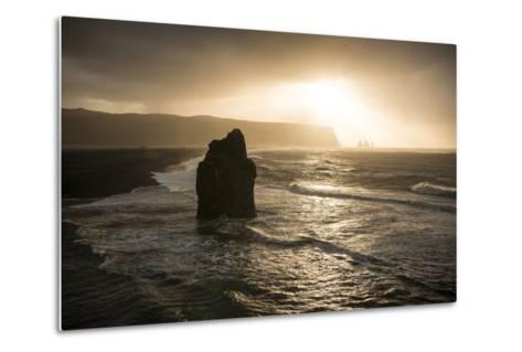 Dyrholaey, Iceland, Polar Regions-Ben Pipe-Metal Print