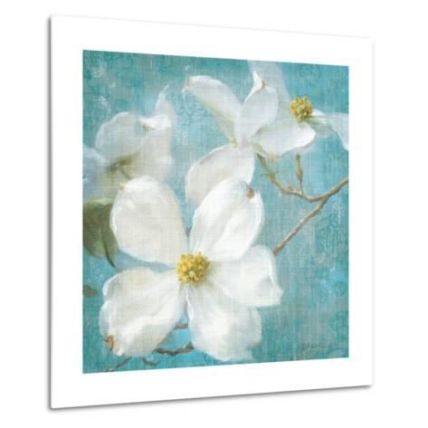 Indiness Blossom Square Vintage I-Danhui Nai-Metal Print