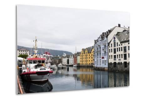 Alesund, Norway, Scandinavia, Europe-Sergio Pitamitz-Metal Print