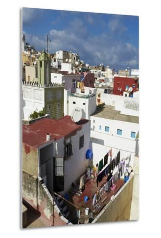 The Medina (Old City), Tangier, Morocco, North Africa, Africa-Bruno Morandi-Metal Print