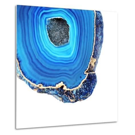 Lapis Lazuli Agate A--Metal Print