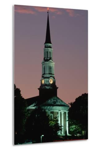 Chapel at the University of Maryland-Paul Souders-Metal Print