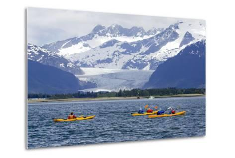 Sea Kayakers-Design Pics Inc-Metal Print