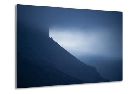 Dusk at Castleton Tower, Castle Valley, Utah-Keith Ladzinski-Metal Print