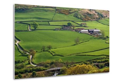 Farmland of North York Moors National Park-Design Pics Inc-Metal Print