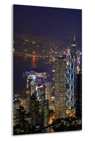 Cityscape and Causeway Bay-Design Pics Inc-Metal Print