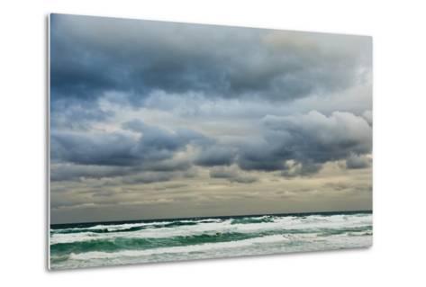 Clouds over Rough Sea-Norbert Schaefer-Metal Print