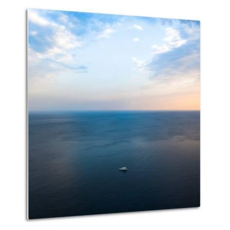 Ship in the Sea-Oleh Slobodeniuk-Metal Print