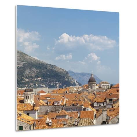 Rooftops of the Old Town, UNESCO World Heritage Site, Dubrovnik, Dalmatia, Croatia, Europe-Charlie Harding-Metal Print