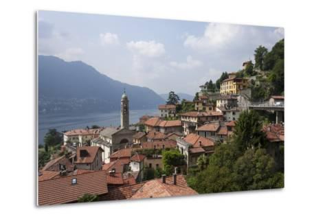 Village Overlooking Lake Garda, Italian Lakes, Lombardy, Italy, Europe-James Emmerson-Metal Print