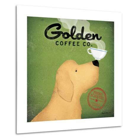 Golden Coffee Co.-Ryan Fowler-Metal Print