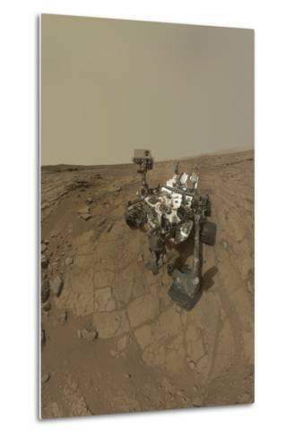 Self-Portrait of Curiosity Rover on the Surface of Mars--Metal Print
