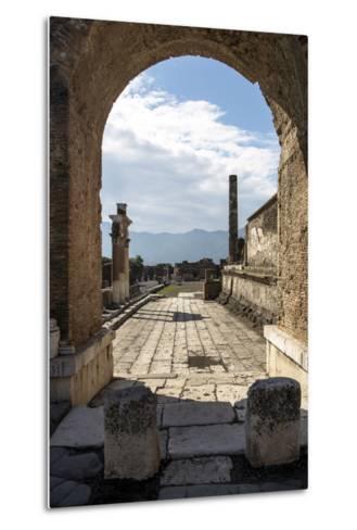 Pompeii Ruins, UNESCO World Heritage Site, Campania, Italy, Europe-Angelo Cavalli-Metal Print