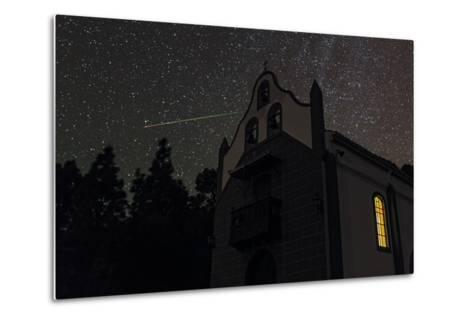 A Colorful Meteor Streaks the Sky in Ursa Minor-Babak Tafreshi-Metal Print