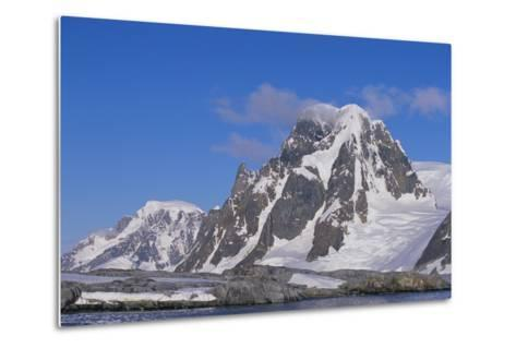 Mountains Rising from the Sea-DLILLC-Metal Print